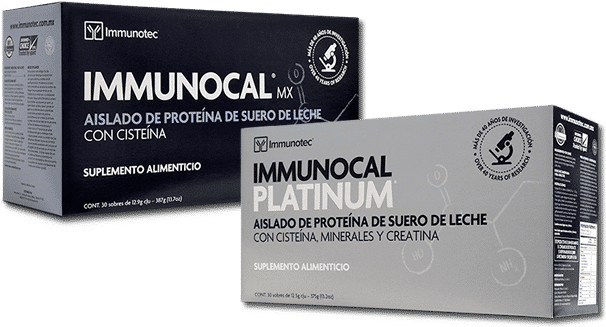 Immunocal comprobado científica y clinicamente que eleva los niveles de Glutatión